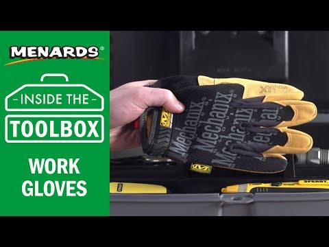 Menards - Inside the Toolbox - Work Gloves