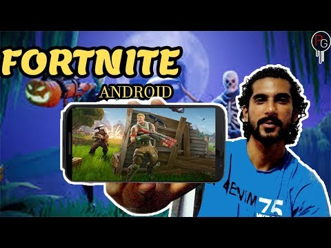FORTNITE For Android Is Here officially! The Wait Is Finally Over!!