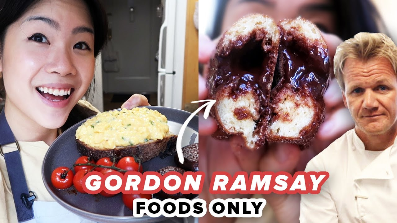 I Only Made Gordon Ramsay Recipes For 24 Hours