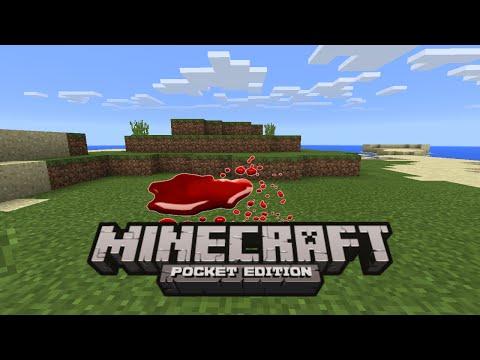 ✔5 ways to make blood in minecraft pe