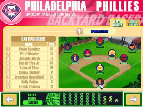 Let's Play Backyard Baseball 2003 - Game 1: Philadelphia Phillies v. Montreal Expos Part 1