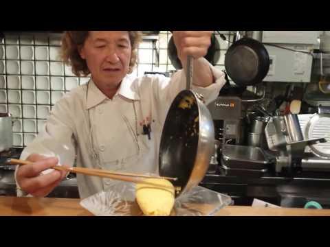 Famous Kichi Kichi omurice in Kyoto, Japan