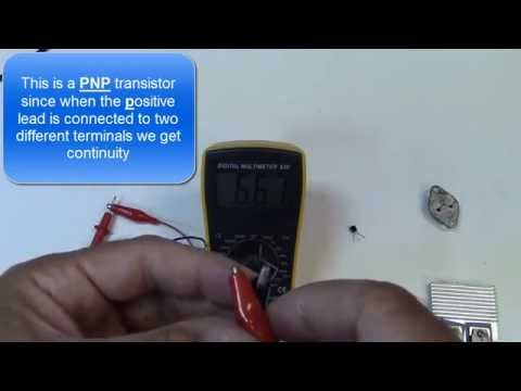 How to Identify and Test Transistors - Bipolar NPN and PNP