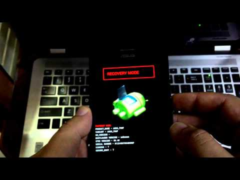 How to enter recovery mode in lollipop Zenfone 5 (clear cache/ factory reset)