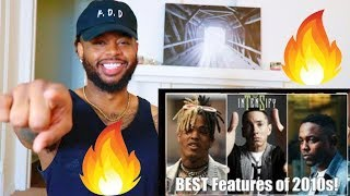 This list is Fire!! | Best Rap Features of 2010s | Reaction