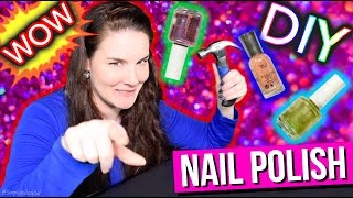 DIY Nail Polish | SUPER CHEAP SALON MANICURE!!!