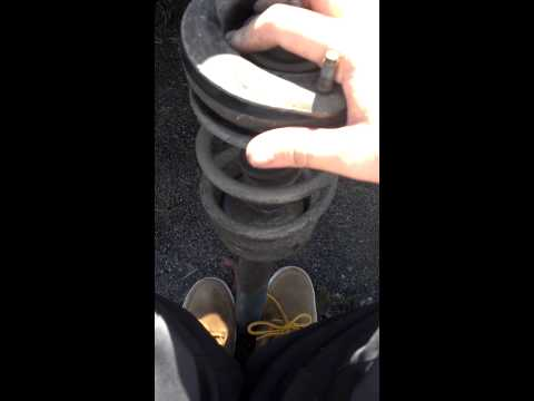 How to know if shocks are bad/ don't cut springs