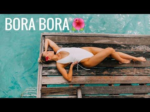 BORA BORA | Swimming With Sharks!