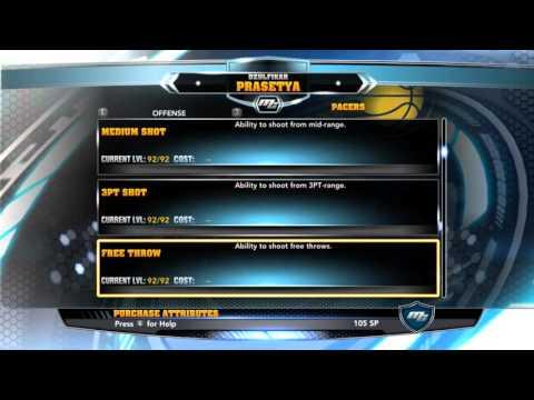NBA2k14-Easy Cheat SP Mycareer