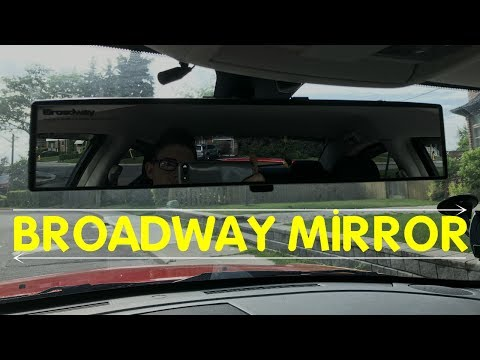 Broadway Mirror 400 mm Install & Review -- COOL CHEAP MOD!