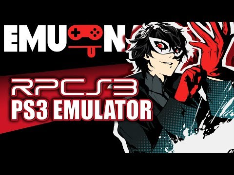 EMU-NATION: RPCS3 Emulator run Persona 5 better than PS4!