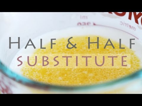 How to Make Half And Half - Homemade Substitute Recipe