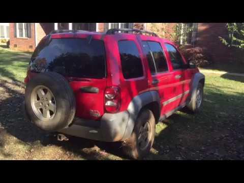 Jeep Liberty brake light repair