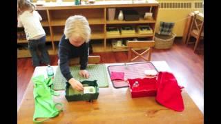 A Montessori Morning.
