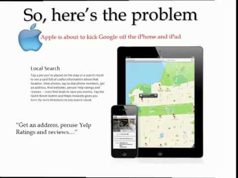 Apple Dumps Google Maps and Google Reviews of the iPad and iPhone