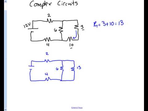 Complex Circuits - Total Resistance