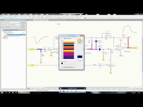 Altium 17 New feature - Set net color