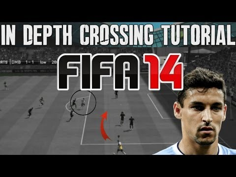 FIFA 14 Tutorials & Tips | How to Score the Cross + Early Cross Attack | Best FIFA Guide (FUT & H2H)