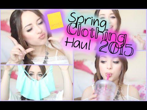 Spring Clothing Haul : Forever 21, Target, Bikinis & More!