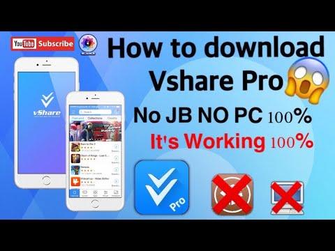 How to download Vshare Pro  NO Jailbreak No Computer 100%