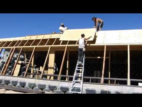 How to Build an Earthship's Front Face - Part II