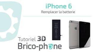 Tuto iPhone 6 : Comment changer la batterie démontage + remontage HD 3D