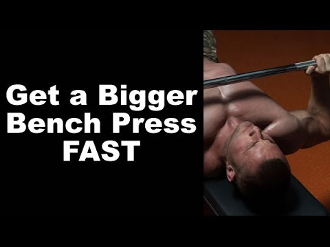 Double Negatives to get a Bigger Bench Press FAST