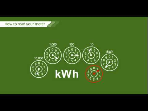 How to read your meter:  Electric Dial Meter - ScottishPower