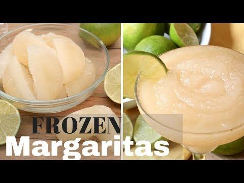 Easy Frozen Margaritas (Blender Margarita Cubes)
