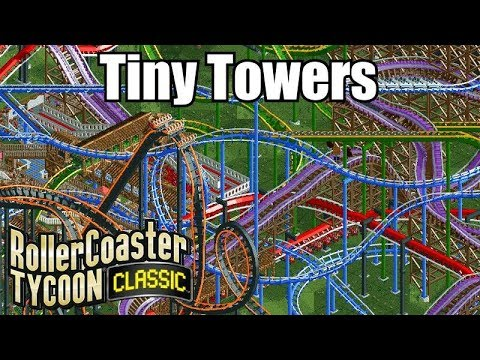 Roller Coaster Tycoon Classic - Tiny Towers