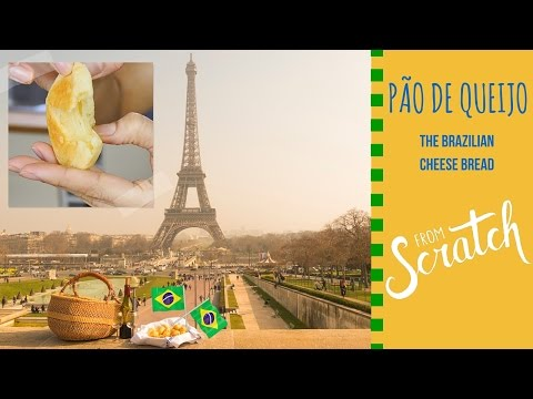 how to make BRAZILIAN CHEESE BREAD (Pão de Queijo) from scratch