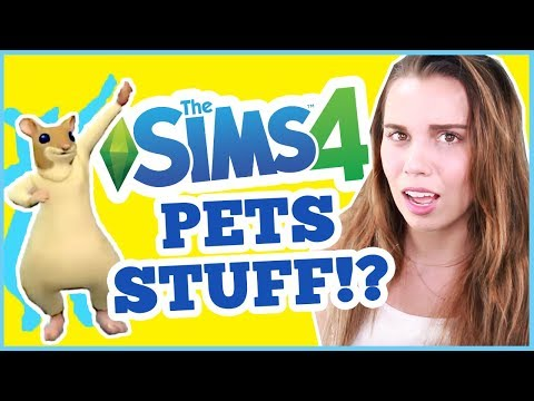 THE SIMS 4 PETS STUFF PACK? New Pack Announced