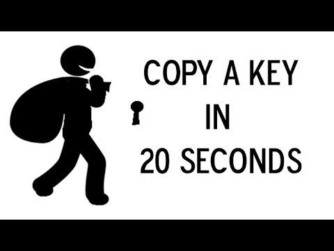 Copy a Key in 20 seconds!!