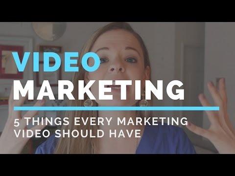 5 Things Every Marketing Video Needs - Video Marketing 101- Paige Media