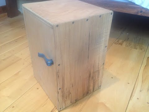 Build an adjustable snare cajon (cam lever)