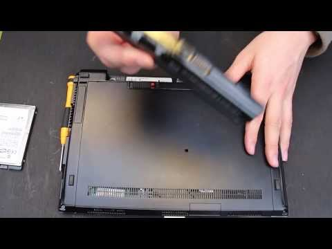 How to replace the hard drive in a HP elite book: CPUmodder