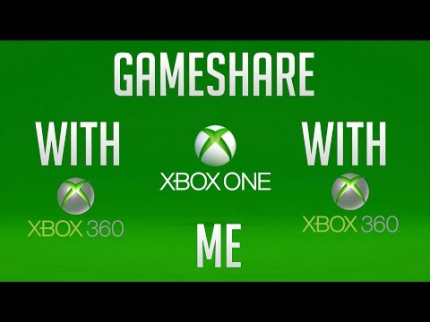 GAMESHARE with me Xbox 360/One