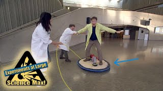 Science Max|DIY HOVERBOARD|Experiment|Learn Science