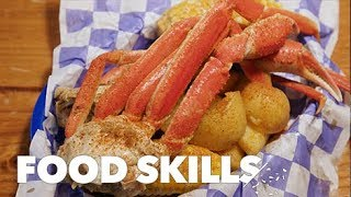 How to Eat a Crab Like a Pro | Food Skills