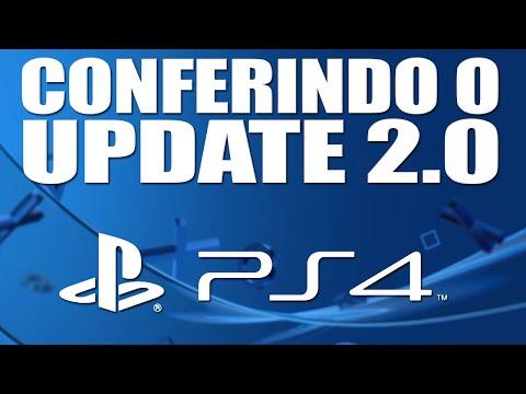 PS4: Conferindo o Update 2.0 - Pause no Download, Mudando Cor e MUITO MAIS! - Noberto Gamer