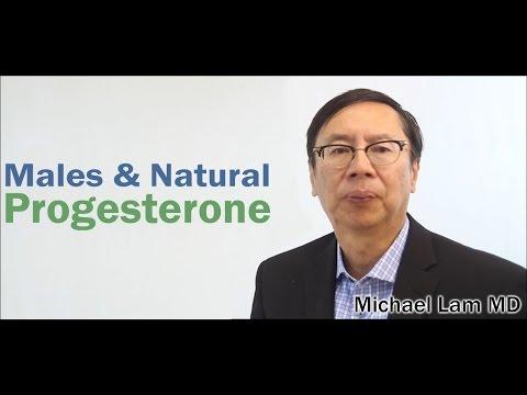 Males & Natural Progesterone