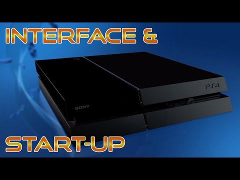 Playstation 4 Interface and Startup | Free 1 month Playstation Plus & 10 Dollar PSN Store Credit