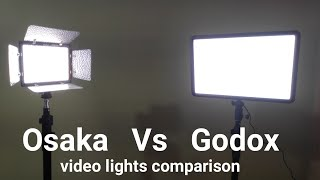 Osaka 528 vs Godox LEDP260C Video Light Comparison and Review | Which is the best?