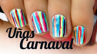Uñas Decoradas De Carnaval Videos 9tubetv