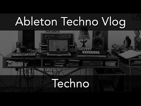 ABLETON TECHNO VLOG - Drumcode Style Part 1