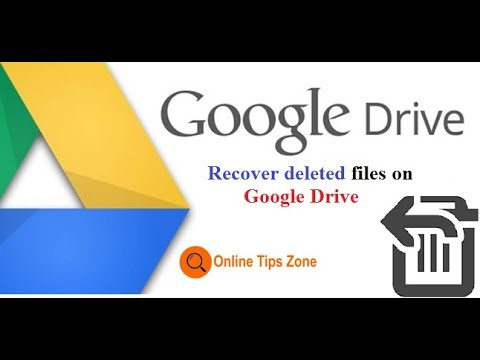 How to Restore Google Drive Files