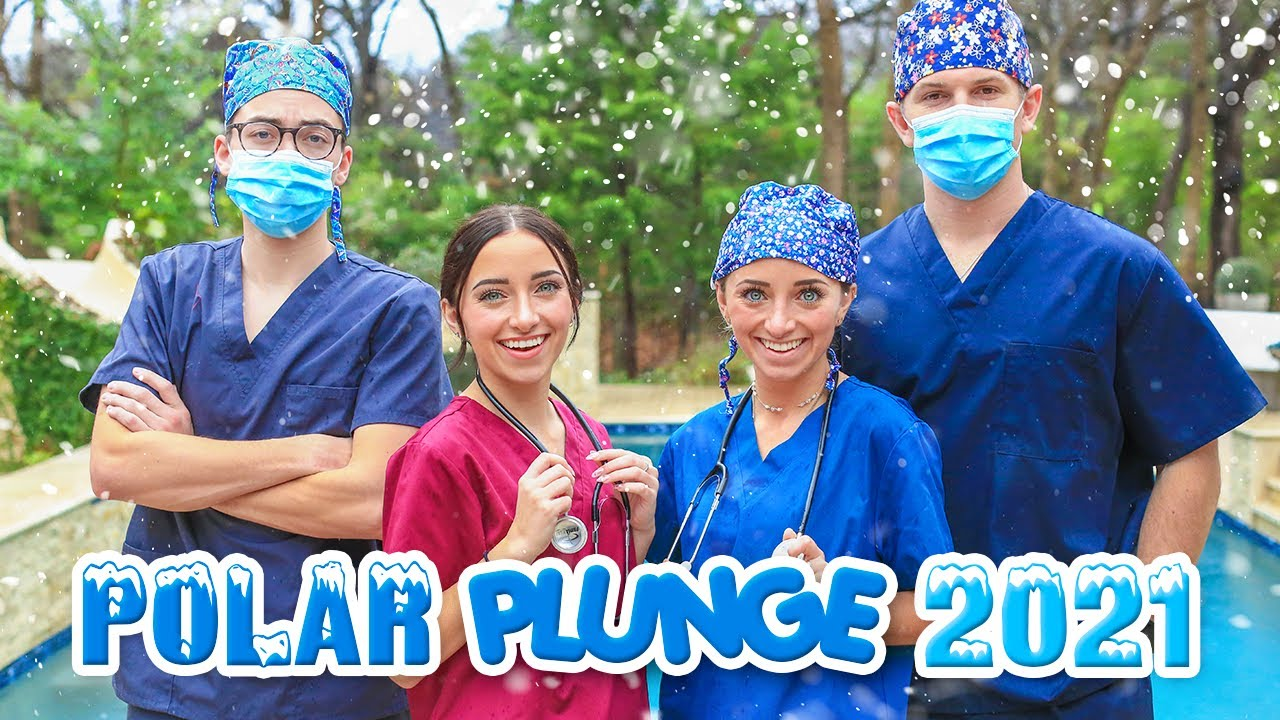 Polar Plunge 2021   Our Coldest Year EVER!