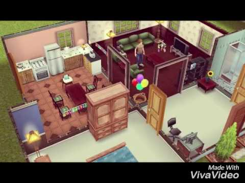 Sims Freeplay: The Baby Shower (the new baby)
