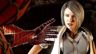 Download SPIDER-MAN PS4 Silver Lining DLC All Silver Sable Cutscenes Video