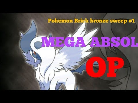 Pokemon brick bronze sweep #1 MEGA ABSOL SWEEP
